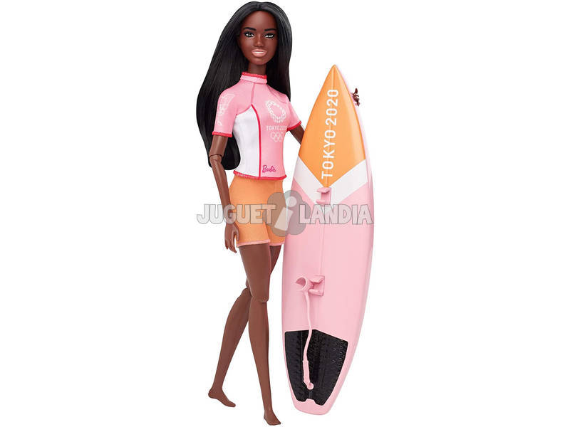 Barbie Olimpiadas Surfera Mattel GJL76