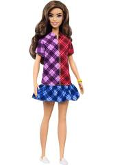 Barbie Fashionistas Mad For Plaid Mattel GHW53