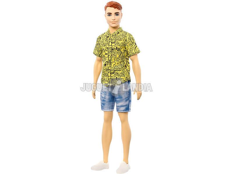 Barbie Ken Fashionista Camisa Amarilla Mattel GHW67