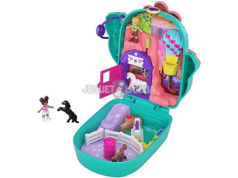 Polly Pocket Cofre Polly & Shani Cactus Ranch Mattel GKJ46