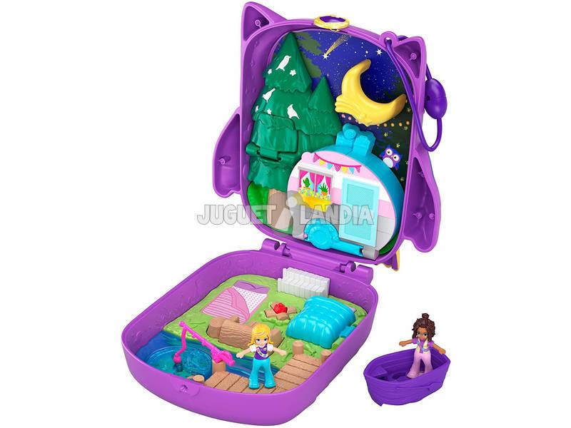 Polly Pocket Cofre Polly & Shani Owl Camp Mattel GKJ47