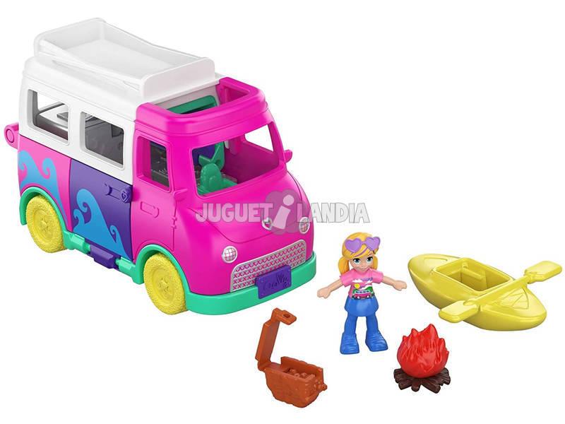 Polly Pocket Autocaravana de Pollyville Mattel GKL49