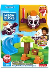 Mega Bloks Panda Lancez et Roulez De Peek a Block Mattel GKX68