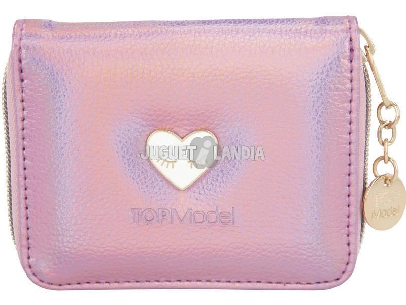 TopModel Monedero Rosa Glamshine 10658