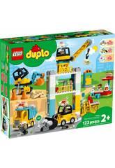 Lego Duplo Town Grue à Tour et Chantier 10933