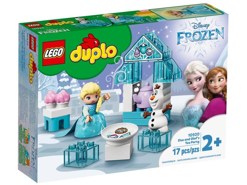 Lego Duplo Frozen Fiesta de Té de Elsa y Olaf 10920