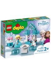 Lego Duplo Frozen Festa de Chá de Elsa e Olaf 10920