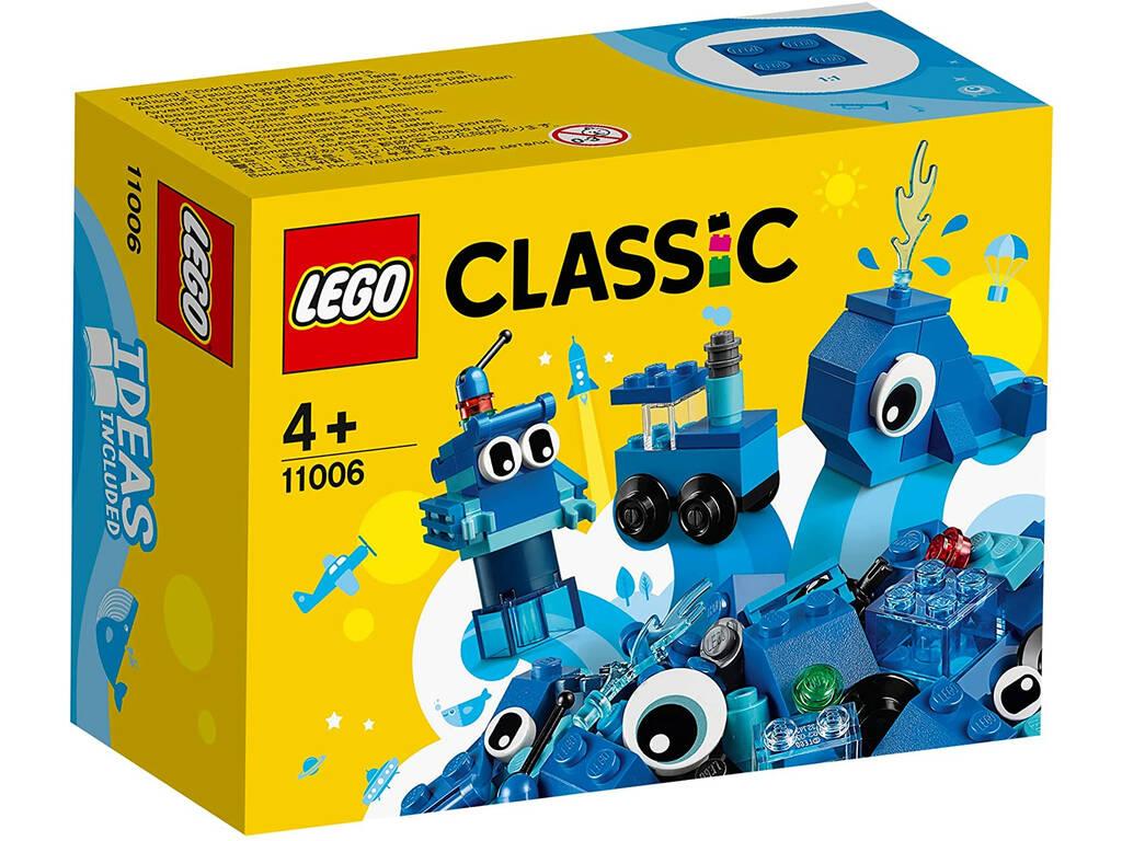 Lego Classic Ladrillos Creativos Azules 11006
