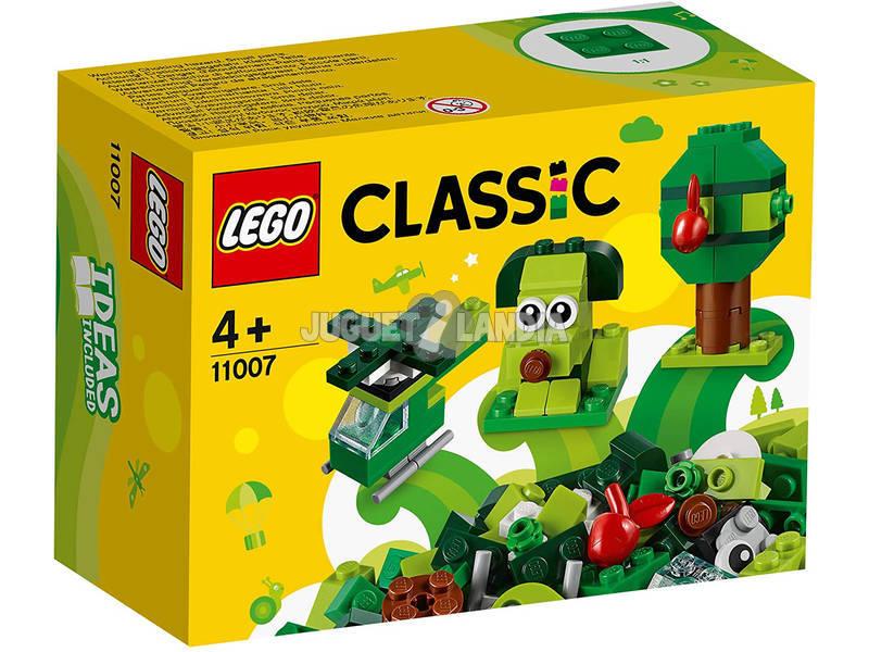 Lego Classic Ladrillos Creativos Verdes 11007