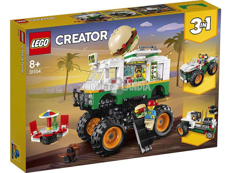 Lego Creator Monster Truck Hamburguesería 31104