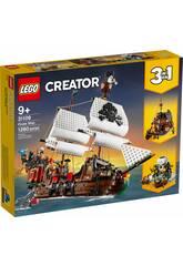 Lego Creator Barco Pirata 3 en 1 31109