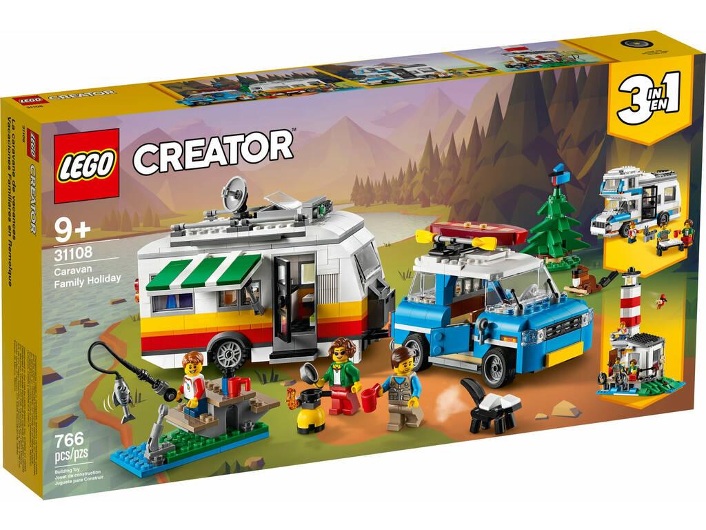 Lego Creator Vacaciones Familiares en Caravana 31108