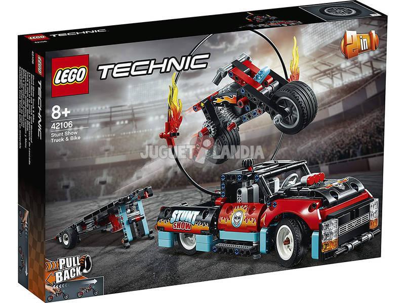 Lego Technic Espectáculo Acrobático Camión y Moto 42106