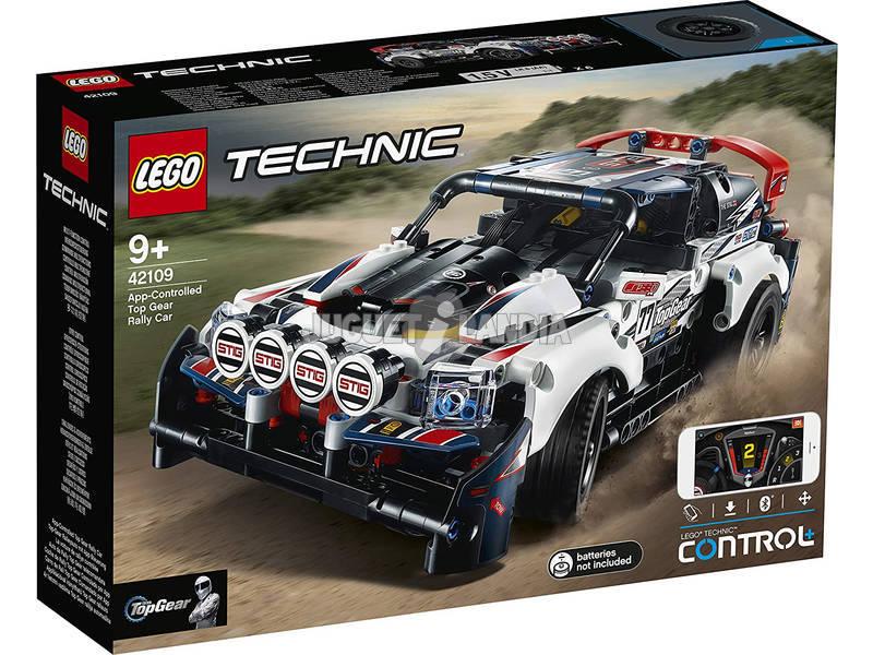 Lego Technic Coche de Rally Top Gear Controlado por APP 42109