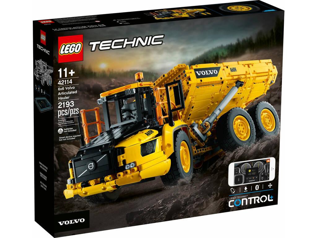 Lego Dúmper Articulado Volvo 6x6 42114