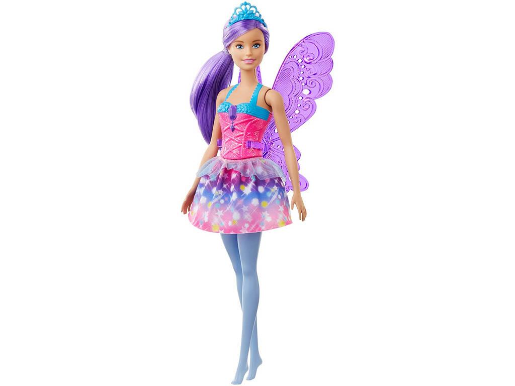Barbie Dreamtopia Hada Violeta Mattel GJK00