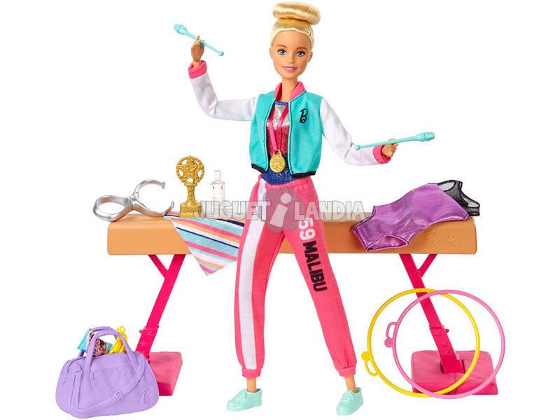 Barbie Gimnasta Conjunto de Juego Mattel GJM72