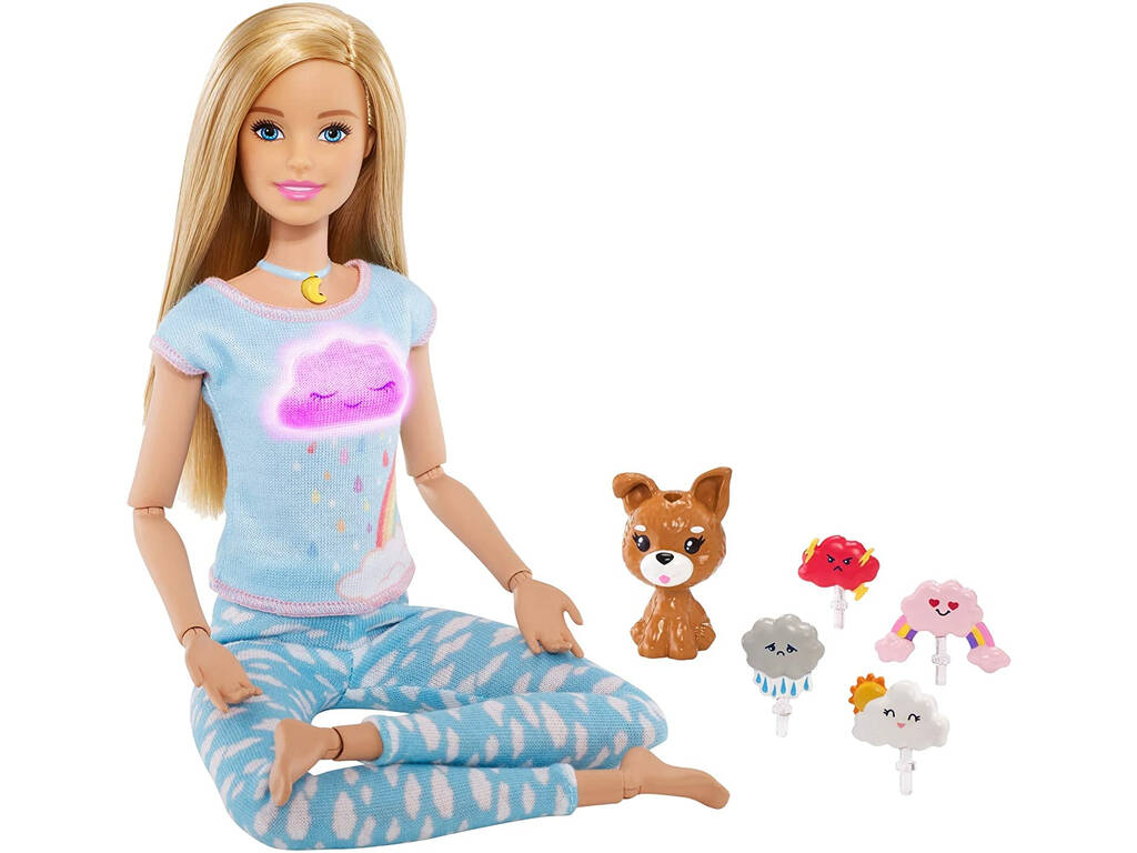 Barbie Meditación Rubia Mattel GNK01