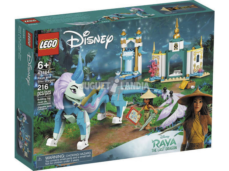 Lego Disney Raya y el Dragón Sisu 43184