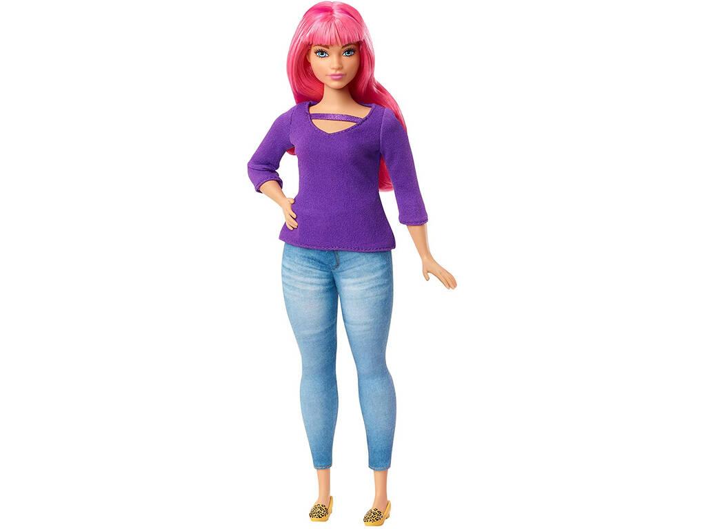 Barbie Dreamhouse Daisy con Conjunto Vaquero y Jersey Mattel GHR59