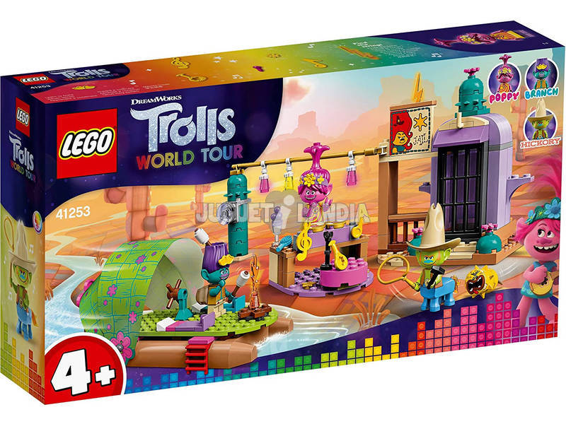 Lego Trolls Aventura en Balsa en Lonesome Flats 41253