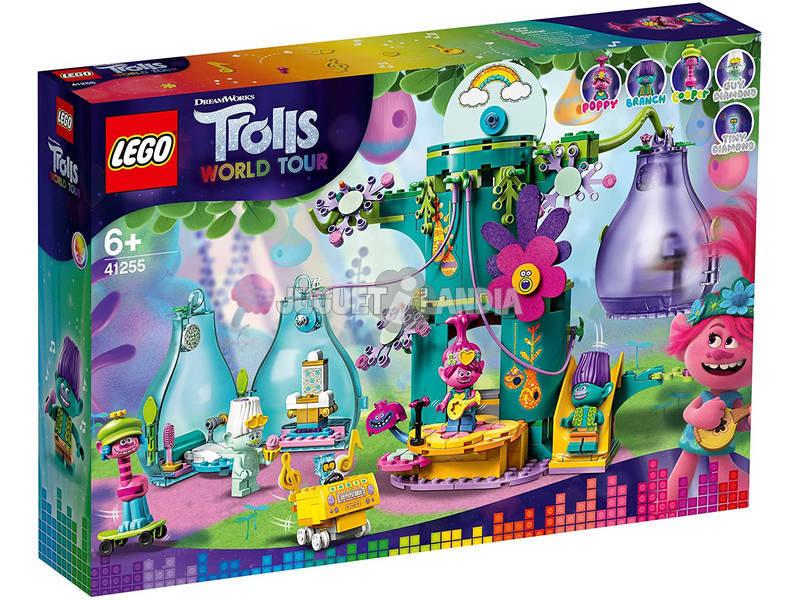 Lego Trolls Fiesta en Pop Village 41255