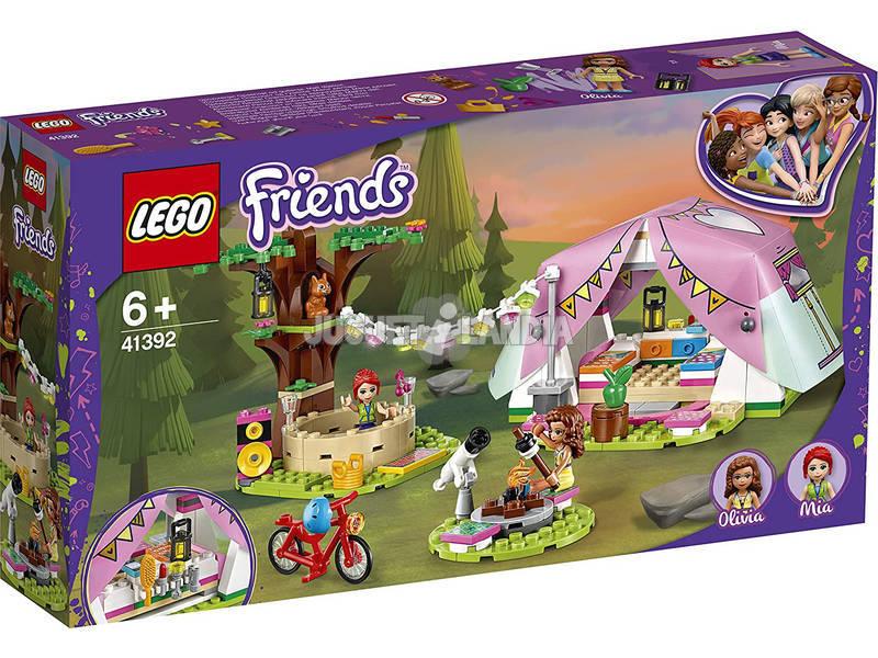 Lego Friends Glamping en la Naturaleza 41392