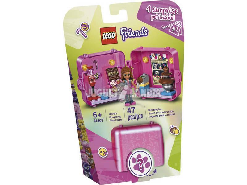 Lego Friends Cubo Tienda de Juegos de Olivia