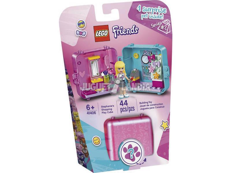 Lego Friends Cubo Tienda de Juegos de Stephanie 41406