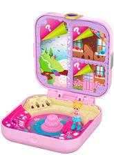 Polly Pocket Mundo Surpresa Fábrica de Doces Mattel GKV11