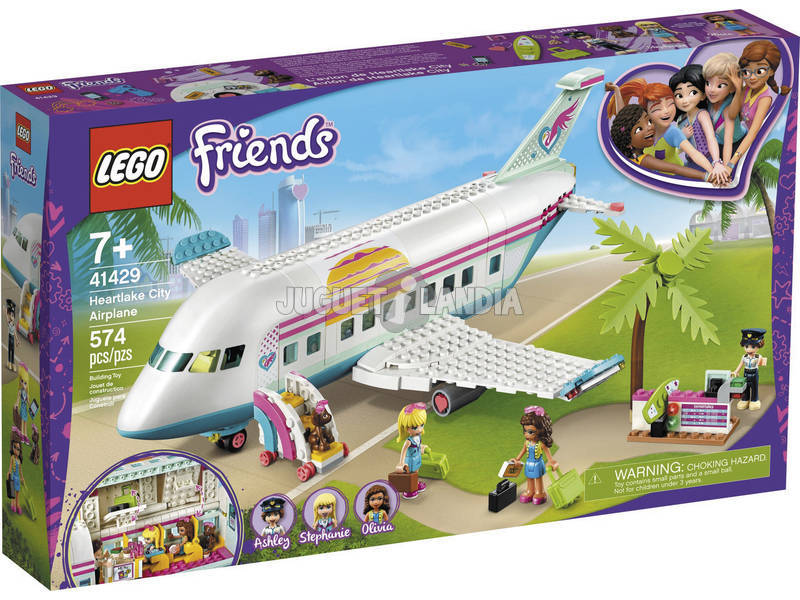 Lego Friends Avión de Heartlake City 41429
