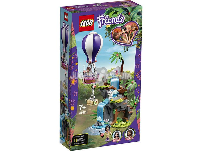 Lego Friends Rescate en la Jungla del Tigre en Globo 41423