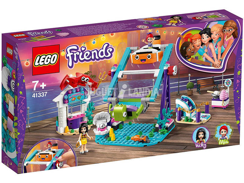 Lego Friends Noria Submarina 41337