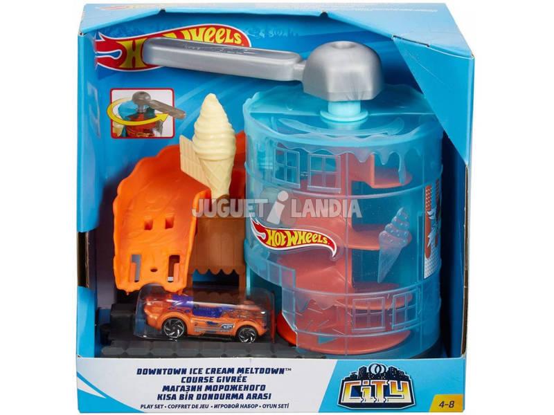 Hot Wheels City Downtown Heladería Mattel GJK74