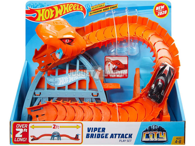 Hot Wheels City Puente Furia del Reptil Mattel GJK88