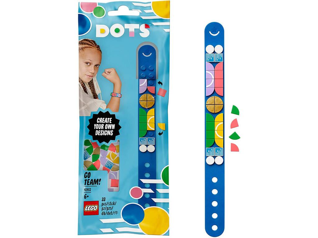 Lego Dots Pulsera Deportiva Azul 41911
