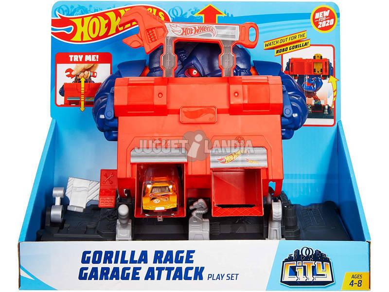 Hot Wheels City Taller Furia del Gorila Mattel GJK89