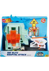 Hot Wheels City Ataque del Murciélago en el Hospital Mattel GJK90