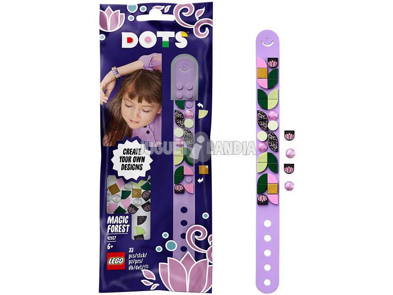 Lego Dots Pulsera Bosque Mágico Violeta 41917