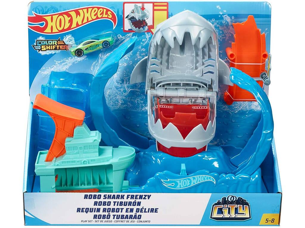 Hot Wheels Robo Shark Frenético Mattel GJL12