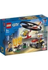Lego City Fire Intervenção de Helicóptero de Bombeiros 60248