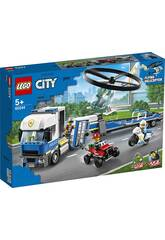 Lego City Police Camión de Transporte del Helicóptero 60244
