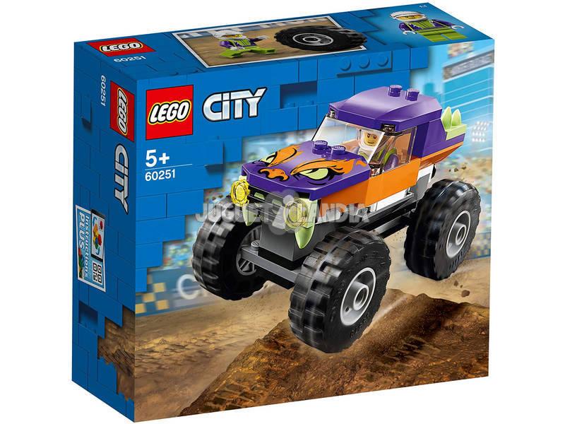 Lego City Grandes Vehículos Monster Truck 60251