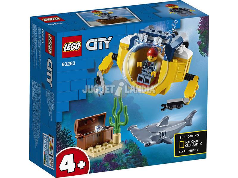 Lego City Oceans Minisubmarino 60263