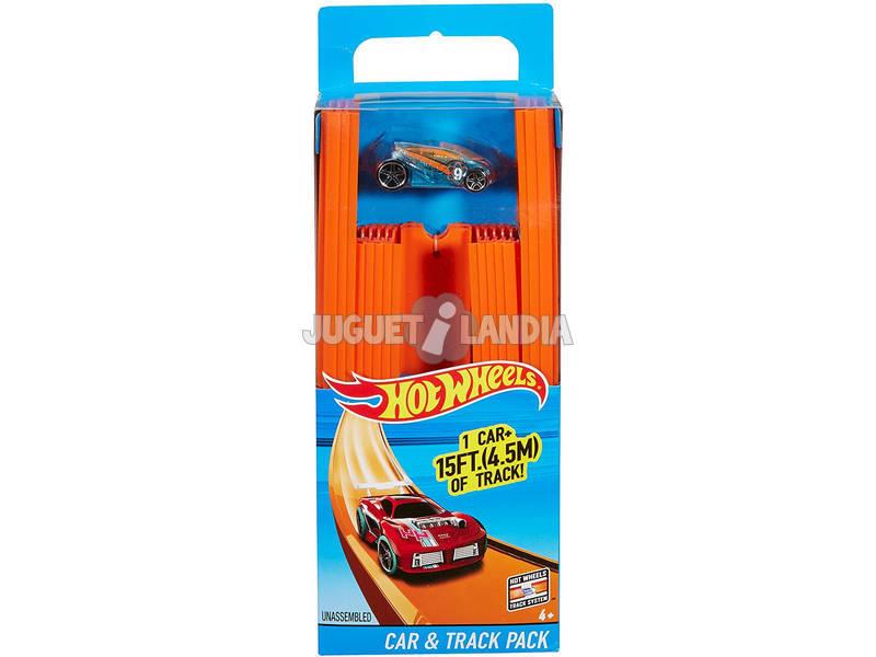 Hot Wheels Pista Recta con Coche Mattel BHT77