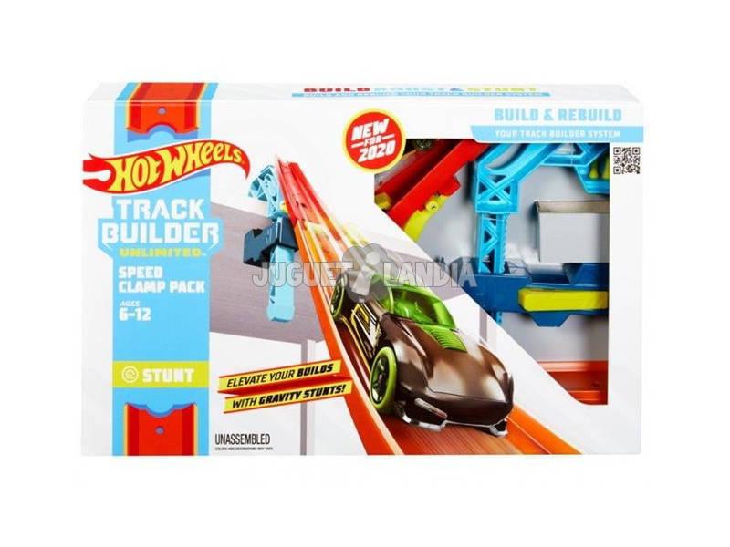 Hot Wheels Track Builder Unlimited Pack de Abrazadera de Velocidad Mattel GLC92