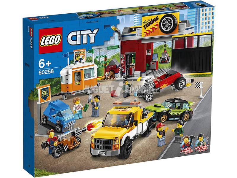 Lego City Nitro Wheels Taller de Tuneo 60258