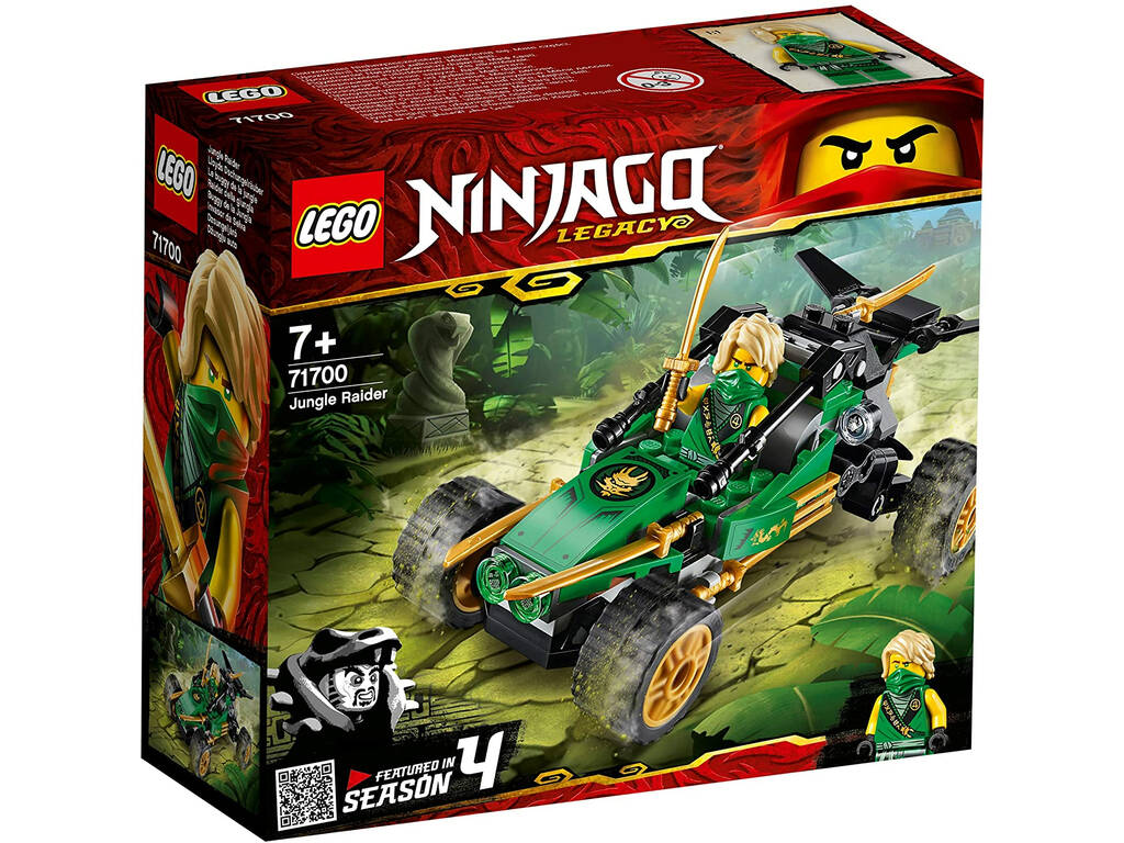 Lego Ninjago Buggy de la Jungla 71700