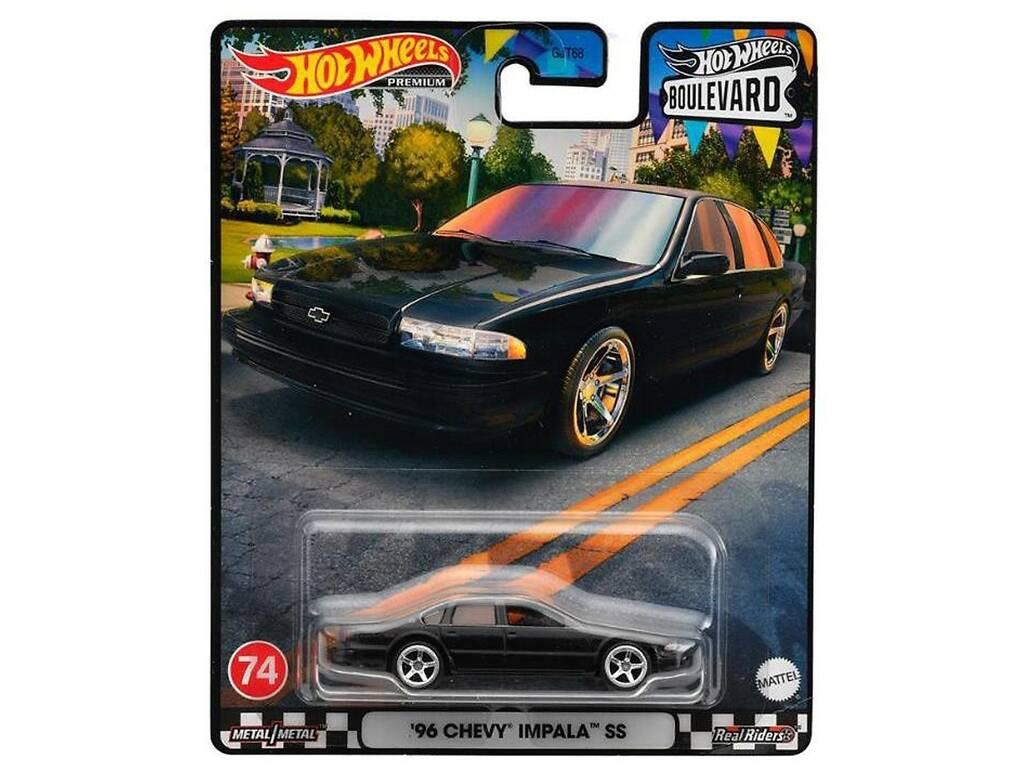 Hot Wheels Vehículos Boulevard Mattel GJT68