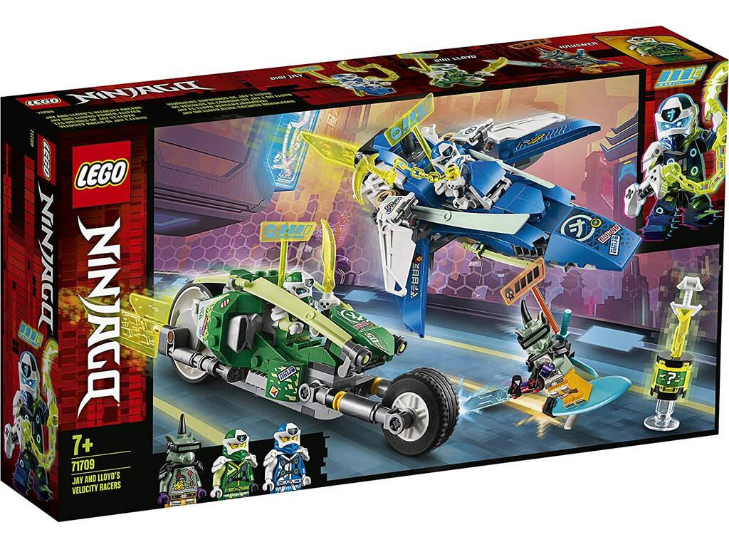 Lego Ninjago Vehículos Supremos de Jay y Lloyd 71709